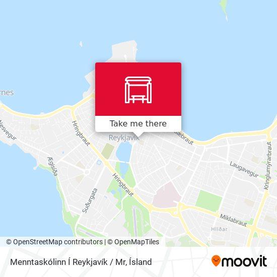 Menntaskólinn Í Reykjavík / Mr map