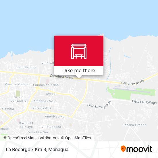 La Rocargo / Km 8 map