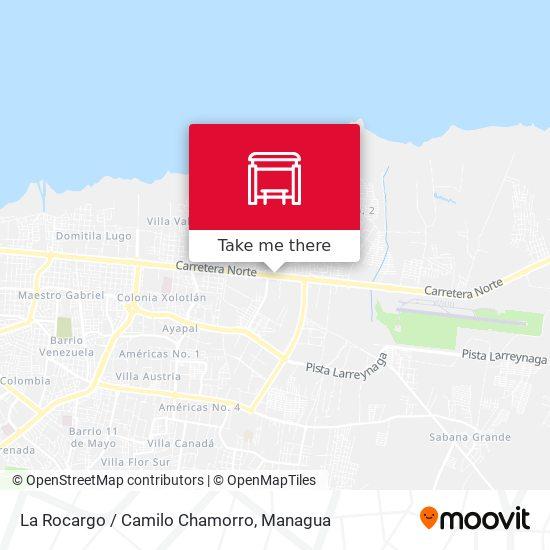 La Rocargo / Camilo Chamorro map