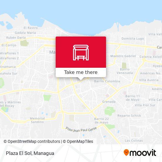 Plaza El Sol map