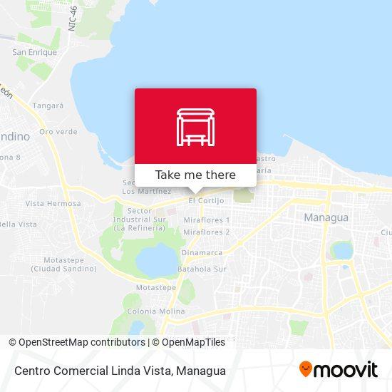 Centro Comercial Linda Vista map
