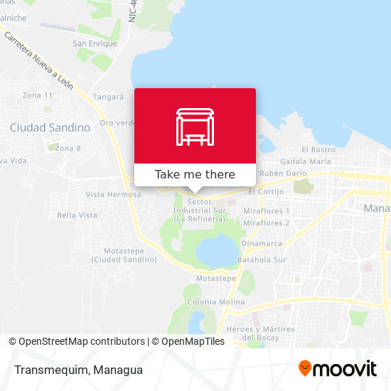 Transmequim map