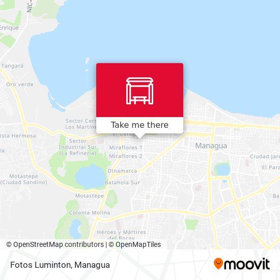 Fotos Luminton map