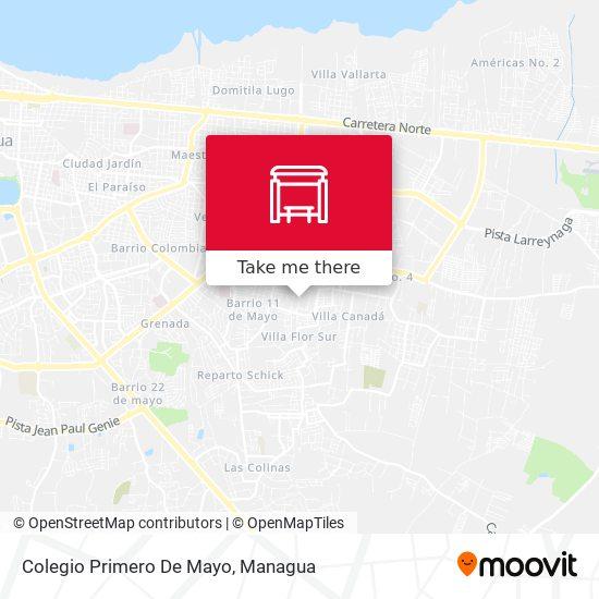 Colegio Primero De Mayo map