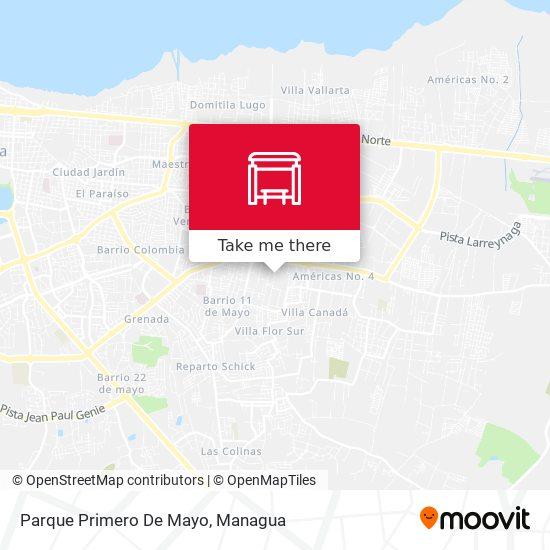Parque Primero De Mayo map