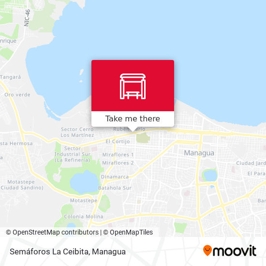 Semáforos La Ceibita map