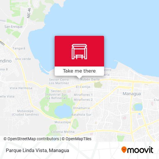 Parque Linda Vista map