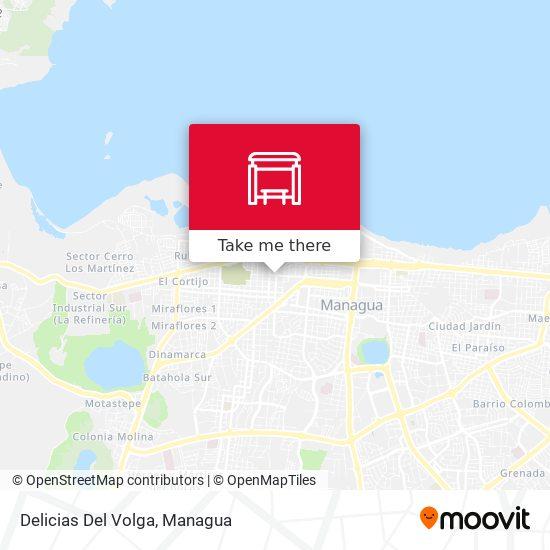 Delicias Del Volga map