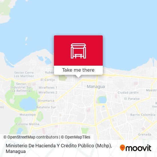 Ministerio De Hacienda Y Crédito Público (Mchp) map
