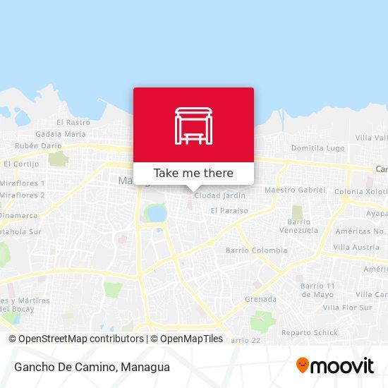 Gancho De Camino map