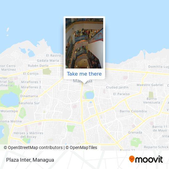Plaza Inter map