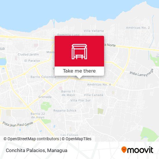 Conchita Palacios map