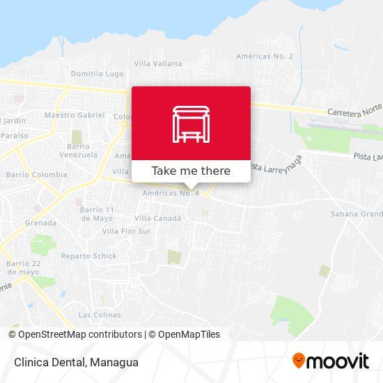 Clinica Dental map