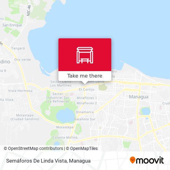 Semáforos De Linda Vista map