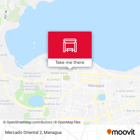 Mercado Oriental 2 map