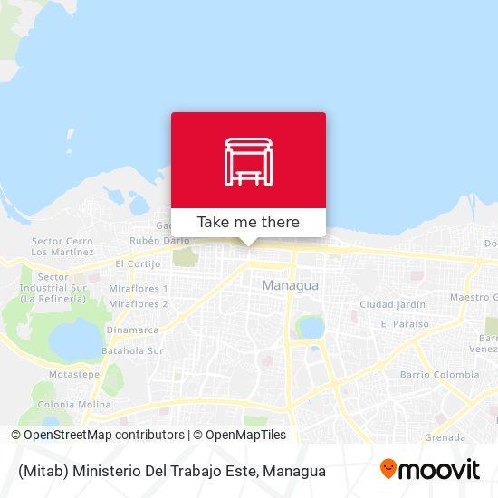 (Mitab) Ministerio Del Trabajo Este map