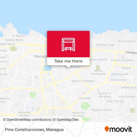 Pms Construcciones map