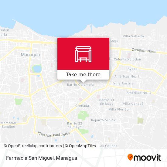 Farmacia San Miguel map