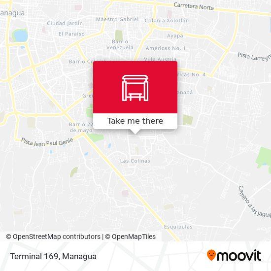 Terminal 169 map