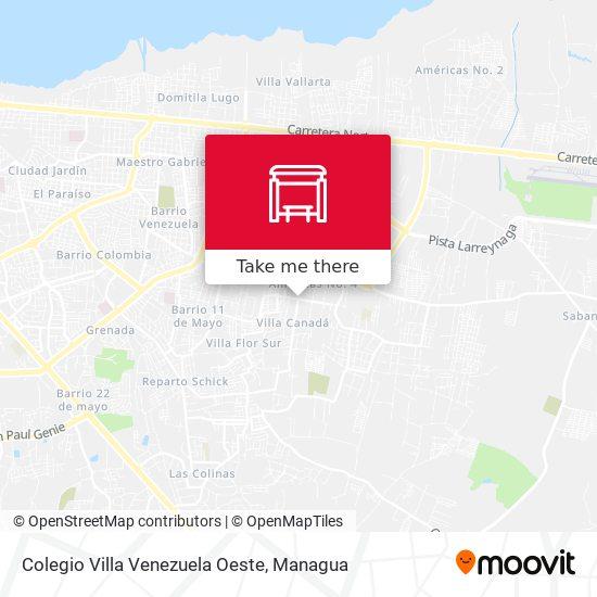 Colegio Villa Venezuela Oeste map