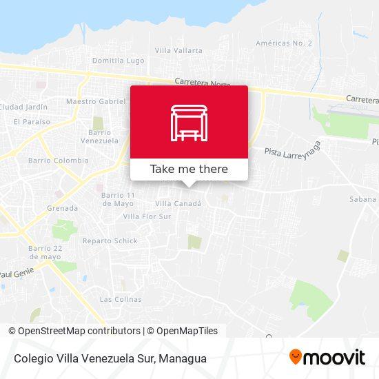 Colegio Villa Venezuela Sur map