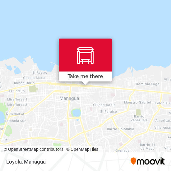 Loyola map