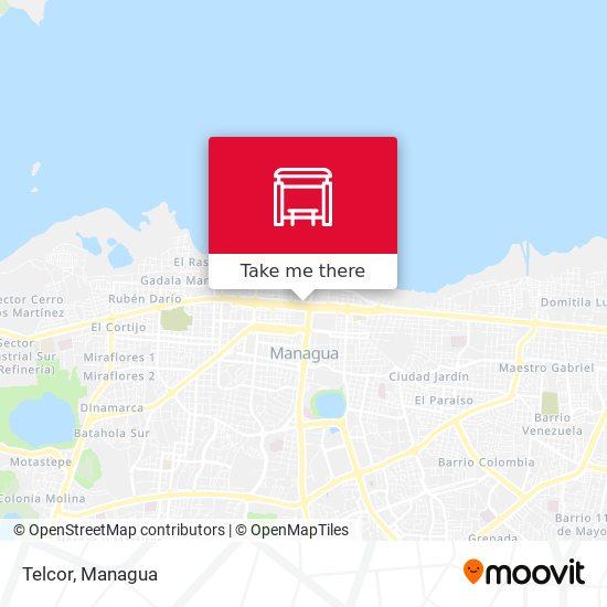 Telcor map