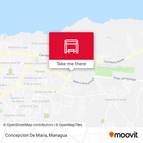 Concepcion De Maria map