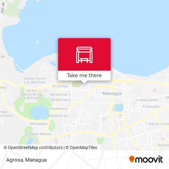 Agrosa map