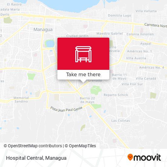 Hospital Central map