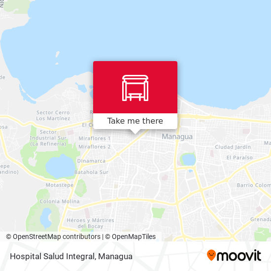 Hospital Salud Integral map