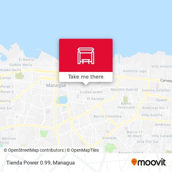 Tienda Power 0.99 map