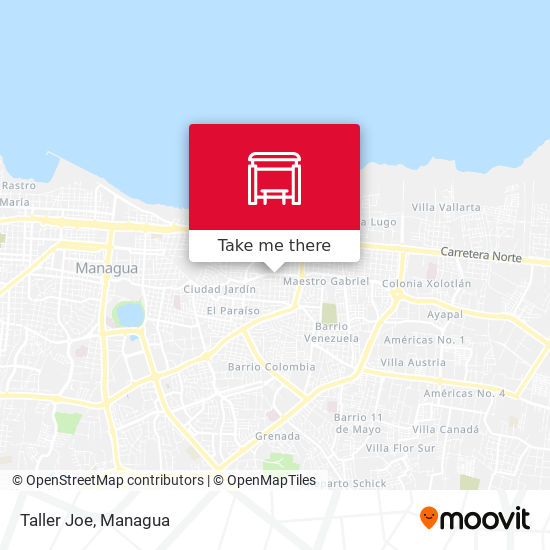 Taller Joe map