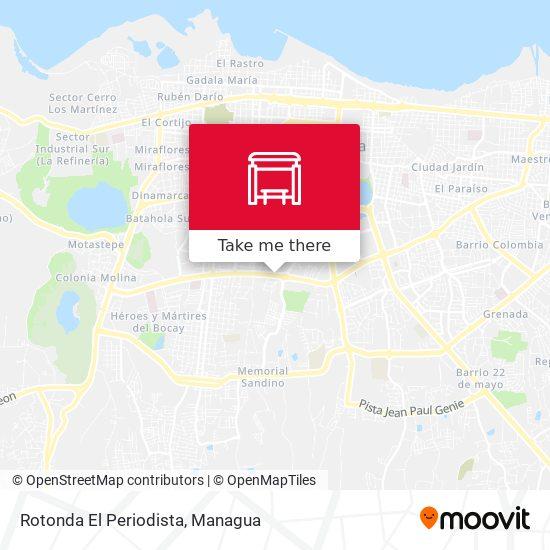 Rotonda El Periodista map
