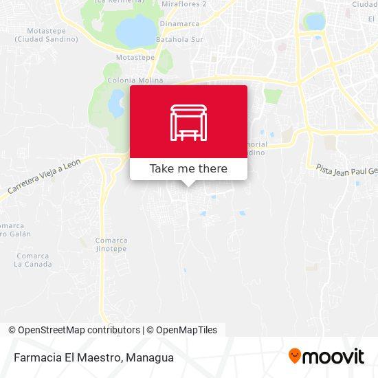 Farmacia El Maestro map
