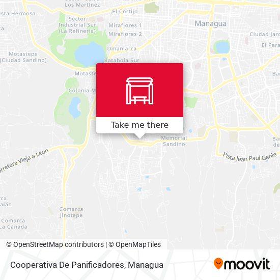 Cooperativa De Panificadores map