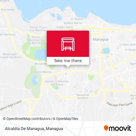 Alcaldía De Managua map