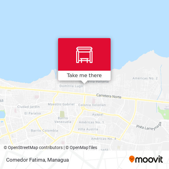 Comedor Fatima map