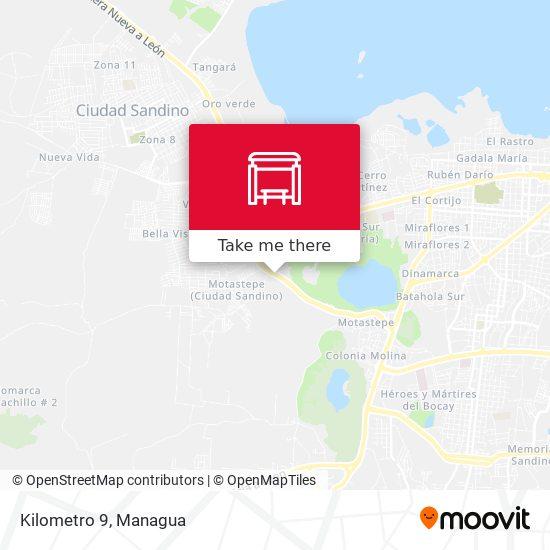Kilometro 9 map