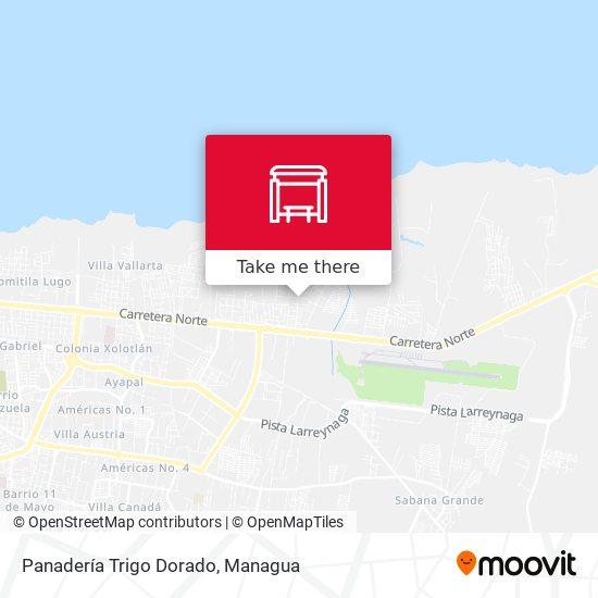 Panadería Trigo Dorado map