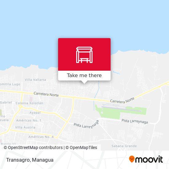 Transagro map