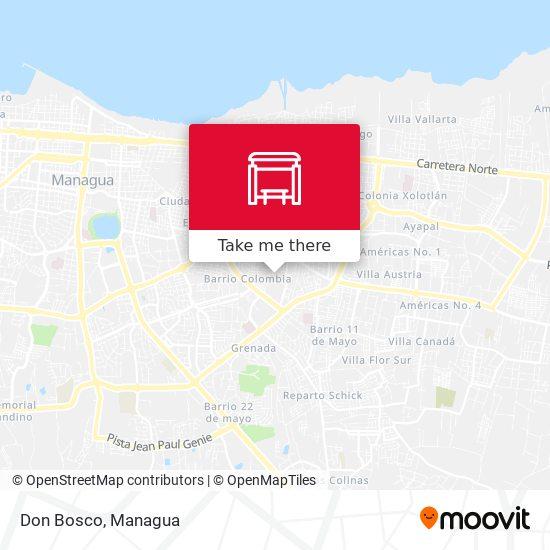 Don Bosco map