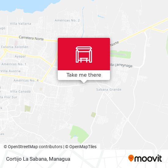Cortijo La Sabana map