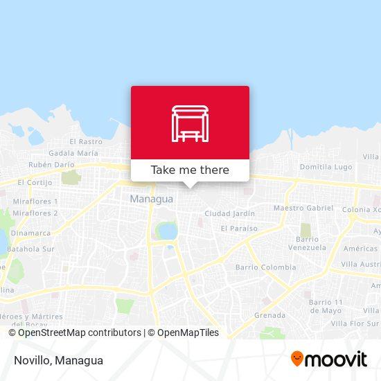 Novillo map