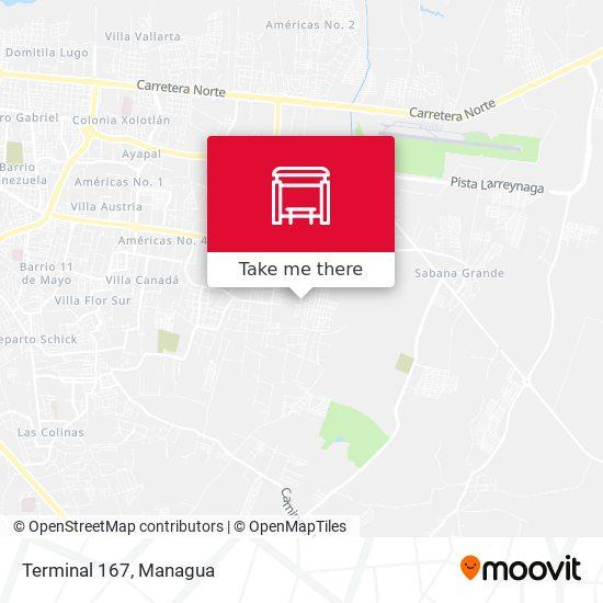 Terminal 167 map