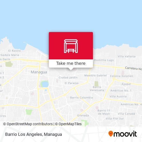 Barrio Los Angeles map