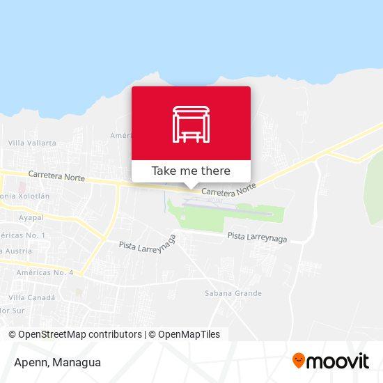 Apenn map
