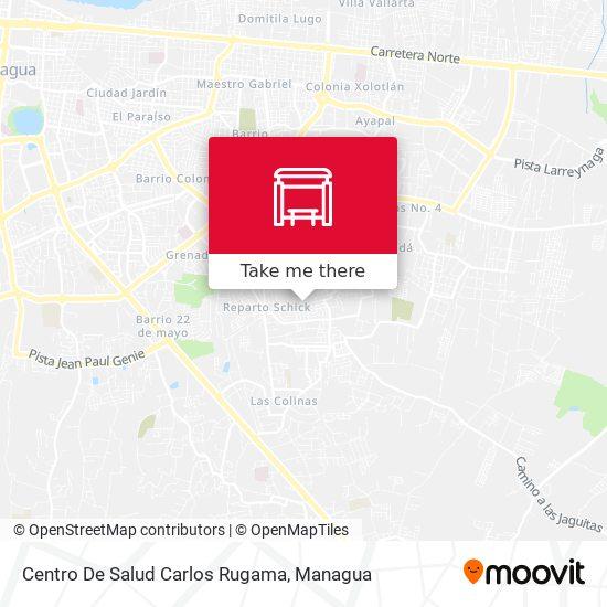 Centro De Salud Carlos Rugama map
