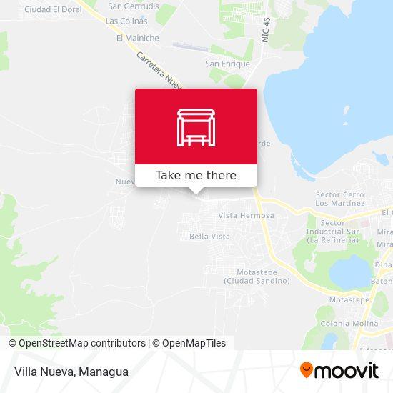 Villa Nueva map