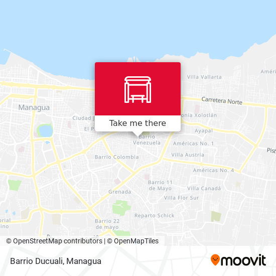 Barrio Ducuali map